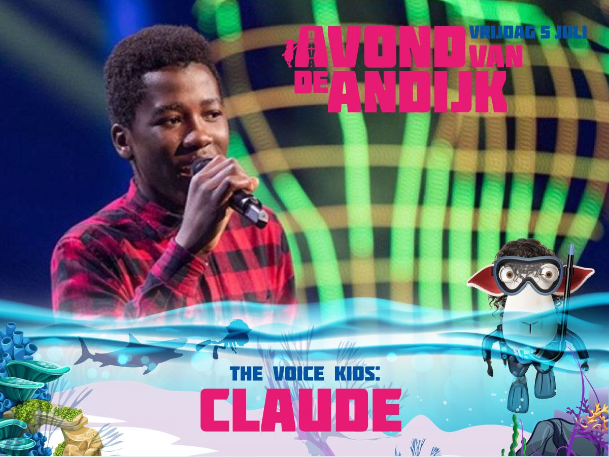 de Avond van Andijk, Claude, Andijk, Festival, Feest, The Voice