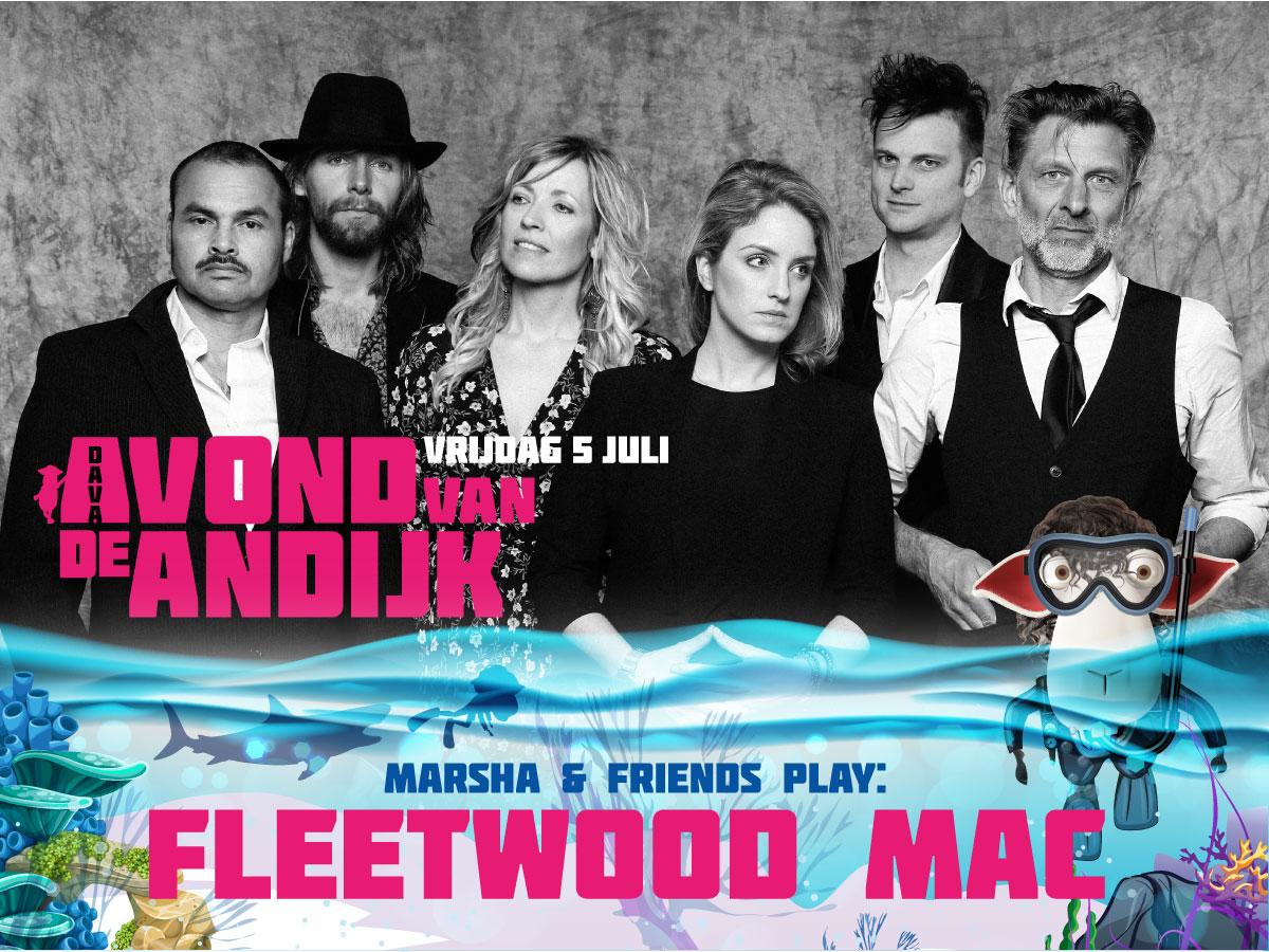 de Avond van Andijk, Marsha & Friends, play Fleetwood Mac, Andijk, Tickets